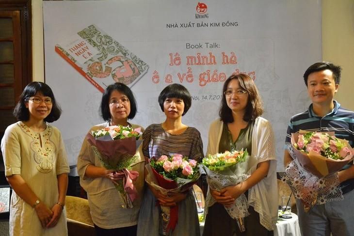 Lê Minh Hà: Tự giải phóng mình khỏi áp lực từ độc giả - ảnh 2