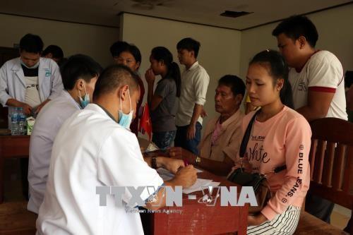 Vỡ đập thủy điện tại Lào: Cộng đồng người Việt Nam chung tay giúp người dân Lào khắc phục sự cố  - ảnh 2