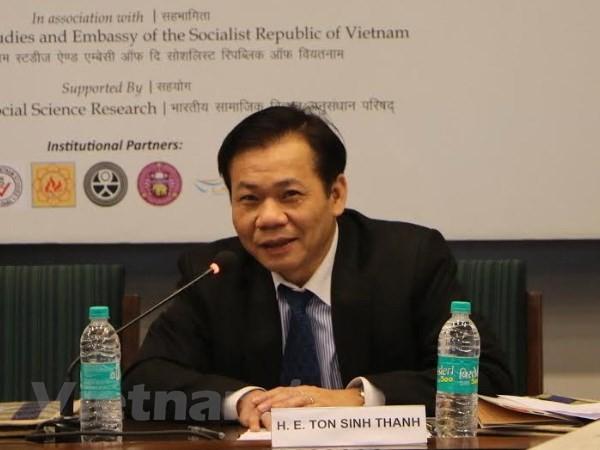 Hội thảo quốc tế về tăng cường quan hệ kinh tế Ấn Độ - Việt Nam  - ảnh 1