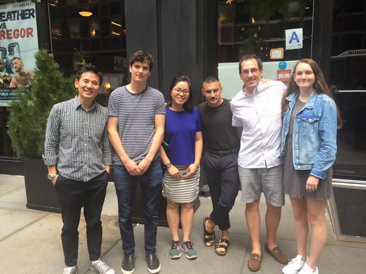 Người trẻ khởi nghiệp ở New York - ảnh 2