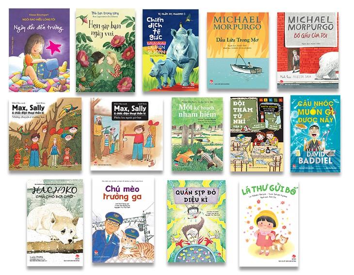 Nhà xuất bản Kim Đồng mang gần 3 vạn bản sách đến Hội sách Mùa Thu 2018 - ảnh 2