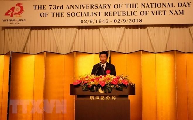 Cộng đồng Việt Nam tại Nhật bản đóng góp quan trọng cho sự giao lưu hai nước.  - ảnh 1