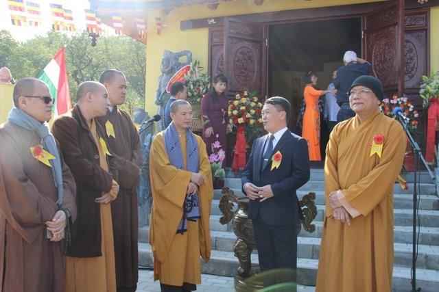 Lần đầu tiên Việt Nam có ngôi chùa được công nhận tại Hungary - ảnh 7