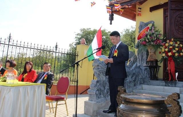 Lần đầu tiên Việt Nam có ngôi chùa được công nhận tại Hungary - ảnh 3