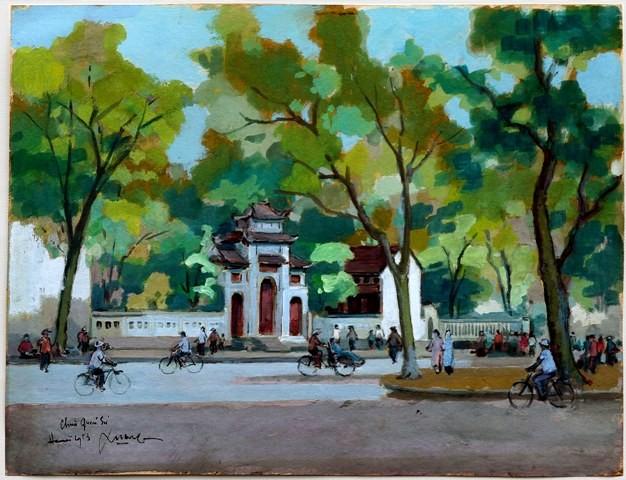 Hà Nội xưa qua tranh của họa sĩ Lê Văn Xương - ảnh 6
