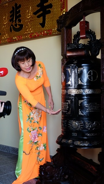 Lần đầu tiên Việt Nam có ngôi chùa được công nhận tại Hungary - ảnh 14