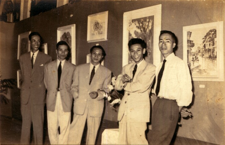 Hà Nội xưa qua tranh của họa sĩ Lê Văn Xương - ảnh 2