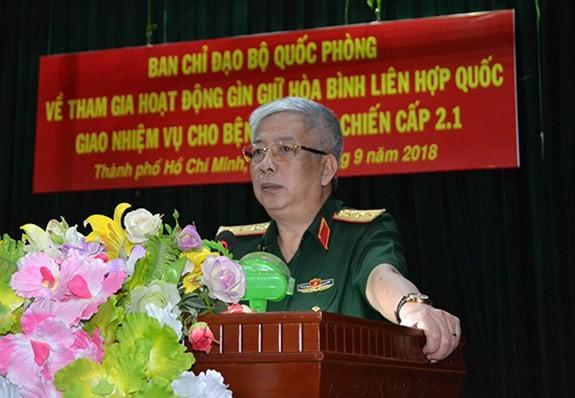 Lực lượng gìn giữ hòa bình Việt Nam lên đường làm nhiệm vụ - ảnh 2