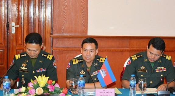Đẩy mạnh giao lưu sĩ quan trẻ Quân đội Việt Nam và Campuchia - ảnh 2