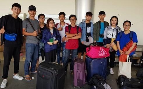 Cập nhật thông tin 10 sinh viên Việt Nam ở Indonesia - ảnh 1