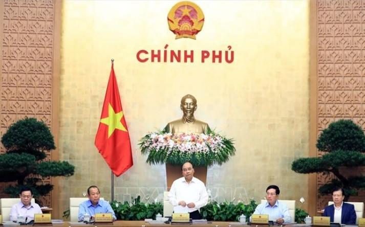 Thủ tướng Nguyễn Xuân Phúc chủ trì Phiên họp thường kỳ chính phủ tháng 9 - ảnh 1