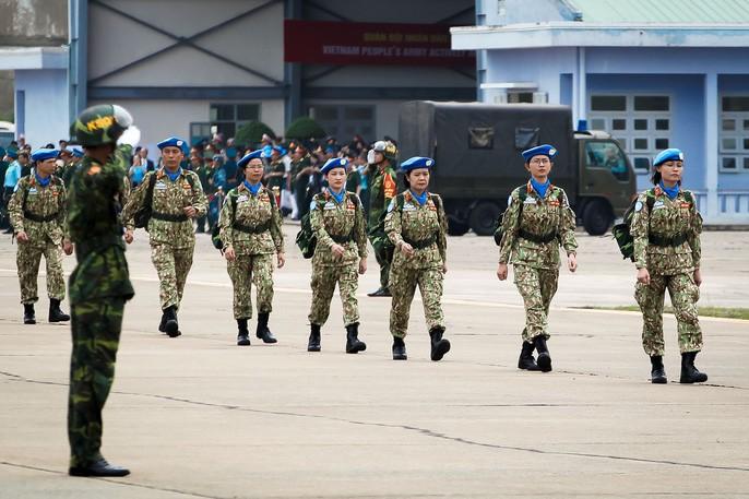 Lễ xuất quân bệnh viện dã chiến cấp 2 số 1 lên đường làm nhiệm vụ tại Nam Sudan - ảnh 2