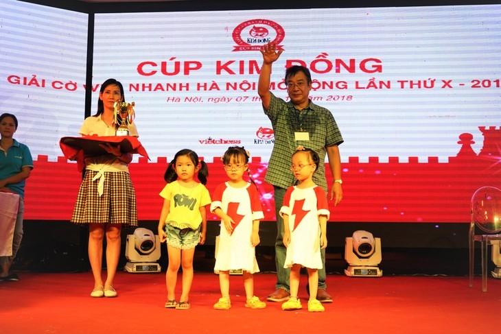 10 Năm Cúp Kim Đồng đồng hành với thế hệ tương lai của cờ vua Việt Nam - ảnh 3