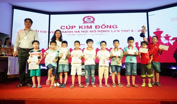 10 Năm Cúp Kim Đồng đồng hành với thế hệ tương lai của cờ vua Việt Nam - ảnh 1