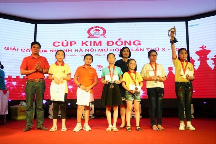 10 Năm Cúp Kim Đồng đồng hành với thế hệ tương lai của cờ vua Việt Nam - ảnh 4