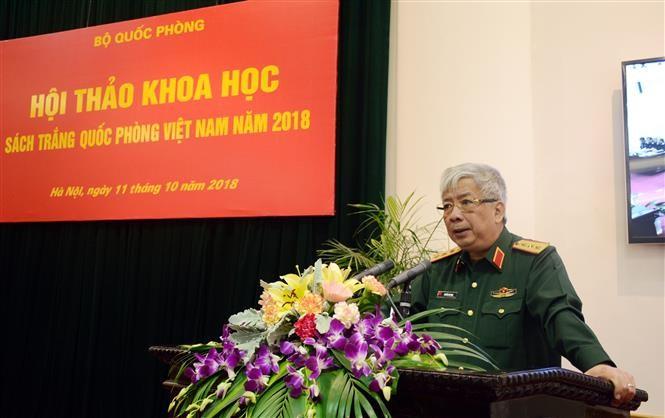 Hội thảo khoa học về Sách Trắng Quốc phòng Việt Nam năm 2018 - ảnh 1