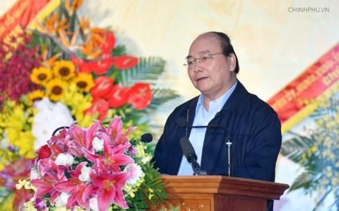 Thủ tướng Nguyễn Xuân Phúc dự Ngày hội đại đoàn kết toàn dân tộc tại tỉnh Bắc Giang - ảnh 2