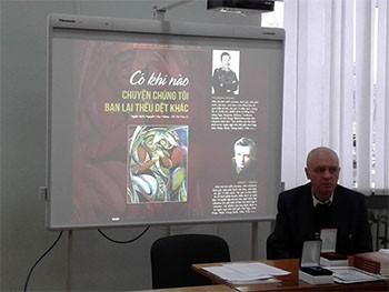 Ra mắt tập thơ Ucraina bản tiếng Việt  - ảnh 1