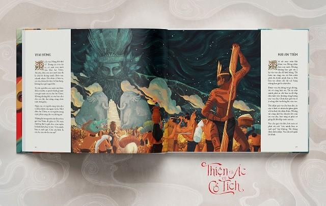 Thiện và Ác và Cổ tích: Đọc truyện cổ theo cách mới cùng minh họa tuyệt mĩ - ảnh 1