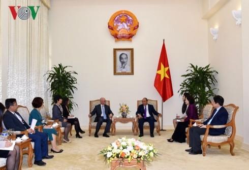 Thủ tướng tiếp Trưởng Đại diện thường trú của Văn phòng IMF - ảnh 1