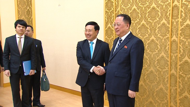 Phó Thủ tướng, Bộ trưởng Ngoại giao Phạm Bình Minh thăm chính thức Triều Tiên - ảnh 1