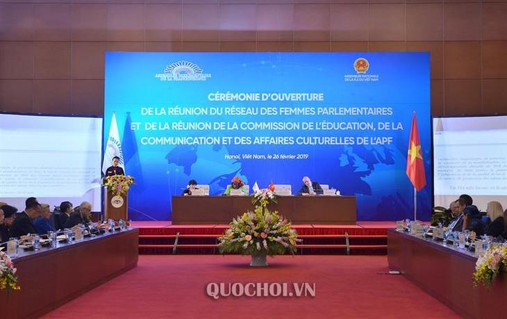 Chủ tịch Quốc hội dự khai mạc Hội nghị mạng lưới nữ nghị sỹ - ảnh 1