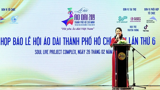 Lễ hội Áo dài Thành phố Hồ Chí Minh lần thứ 6 - ảnh 1