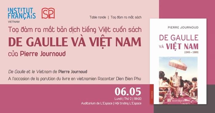 Ra mắt ấn bản tiếng Việt của cuốn sách De Gaulle và Việt Nam (1945 – 1969) - ảnh 1