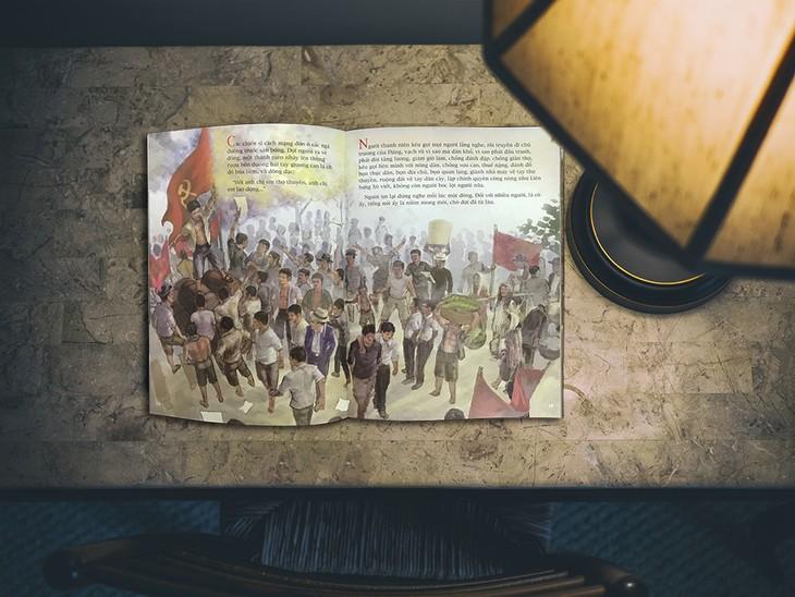 Võ Thị Sáu và Lý Tự Trọng trong sách tranh minh họa khổ lớn - ảnh 4