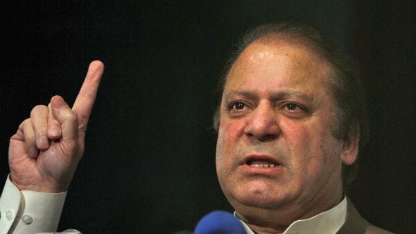 นาย Nawaz Sharif เข้าพิธีสาบานตนรับตำแหน่งนายกรัฐมนตรีปากีสถาน - ảnh 1
