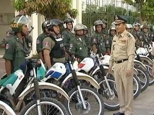 กัมพูชาเพิ่มความเข้มงวดในการรักษาความปลอดภัยก่อนการเลือกตั้งรัฐสภา - ảnh 1