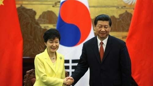 การเจรจาระดับสูงจีน-สาธารณัฐเกาหลี - ảnh 1