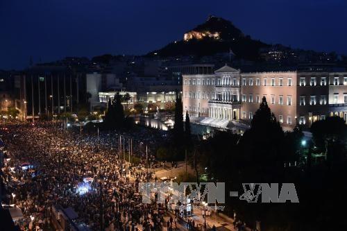 กรีซส่งข้อเสนอฉบับแก้ไขถึงบรรดาเจ้าหนี้ - ảnh 1