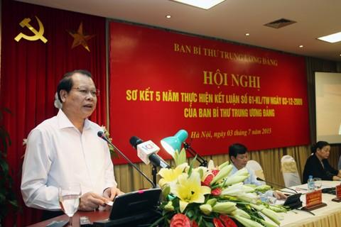 การประชุมสรุปผลการสร้างสรรค์ชนชั้นเกษตรกรเวียดนามวาระ 5 ปี - ảnh 1