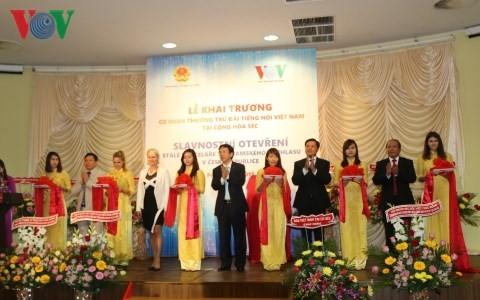 สถานีวิทยุเวียดนามเปิดสำนักงานตัวแทนประจำสาธารณรัฐเช็ก - ảnh 1
