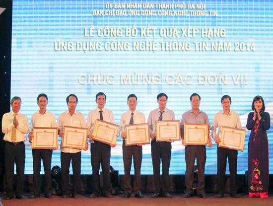 กรุงฮานอยประกาศผลการประยุกต์ใช้เทคโนโลยีสารสนเทศ - ảnh 1