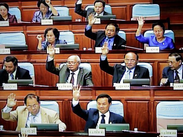 วุฒิสภากัมพูชาอนุมัติร่างกฎหมายสมาคมและองค์การ NGO - ảnh 1
