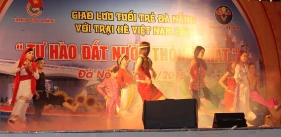 การพบปะสังสรรค์ระหว่างเยาวชนนครดานังกับเยาวชนชาวเวียดนามที่อาศัยในต่างประเทศ - ảnh 1