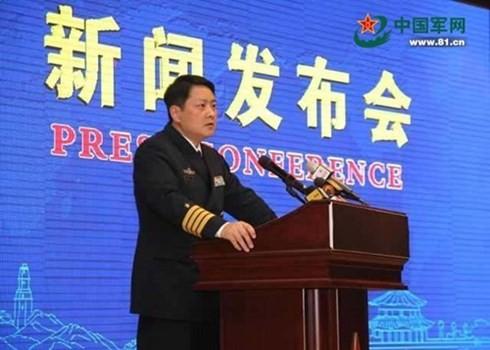 ข้ออ้างของจีนเกี่ยวกับการซ้อมรบทางทหารในทะเลตะวันออก - ảnh 1