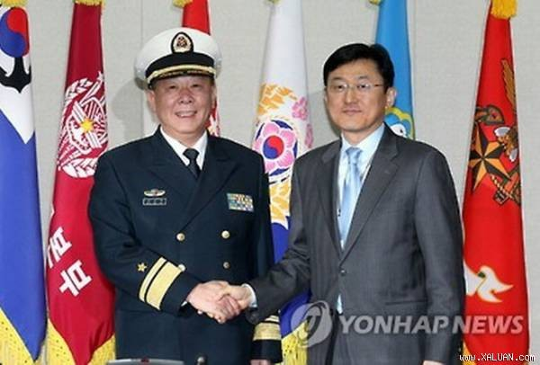 กองทัพสาธารณรัฐเกาหลีและจีนเริ่มทาบทามความคิดเห็นเกี่ยวกับปัญหาของเปียงยาง - ảnh 1