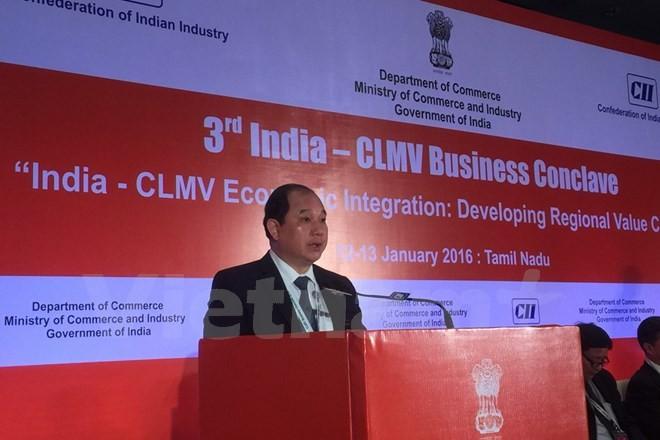 เวียดนามเข้าร่วมการประชุมความร่วมมืออินเดีย-ประเทศ CLMV ครั้งที่ 3 - ảnh 1