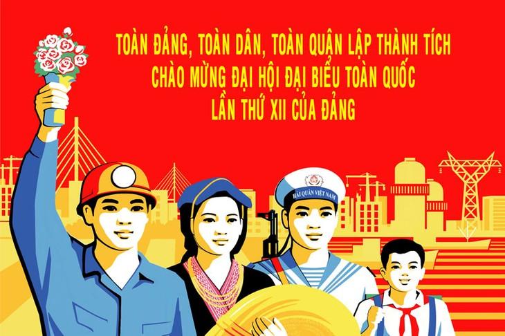 เปิดการประชุมสมัชชาใหญ่พรรคคอมมิวนิสต์เวียดนามสมัยที่ 12 - ảnh 1