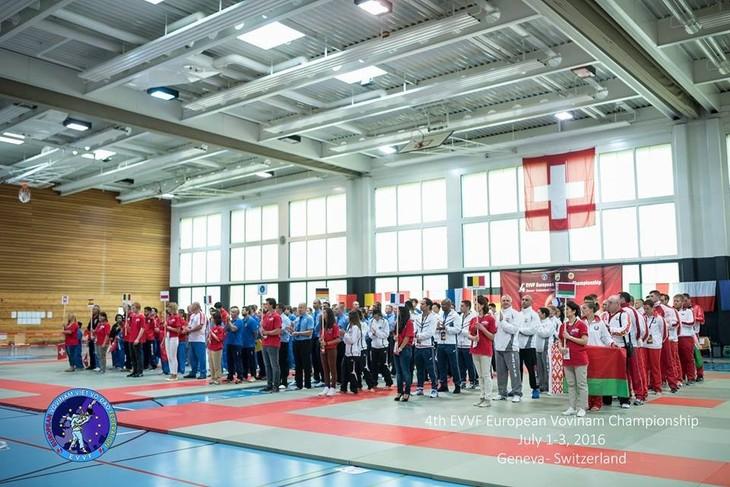 การแข่งขัน Vovinam ชิงแชมป์ยุโรปครั้งที่ 4 ณ ประเทศสวิสเซอร์แลนด์ - ảnh 1