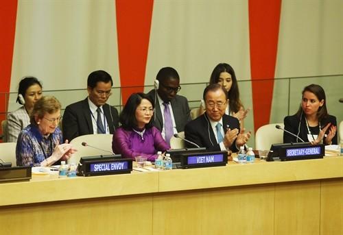 เวียดนามเข้าร่วมการประชุมสุดยอดของสหประชาชาติเกี่ยวกับการรับมือการเปลี่ยนแปลงของสภาพภูมิอากาศ - ảnh 1