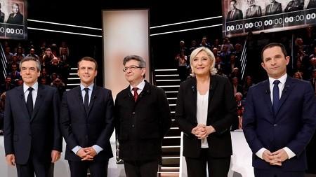 ข่าวการเลือกตั้งประธานาธิบดีฝรั่งเศส - ảnh 1