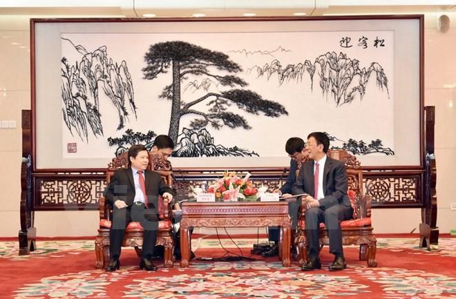 คณะผู้แทนสถาบันอัยการประชาชนสูงสุดเวียดนามเยือนประเทศจีน - ảnh 1