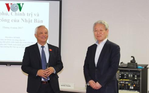 กระชับความร่วมมือด้านการบริหารภาครัฐระหว่างเวียดนามกับญี่ปุ่น - ảnh 1