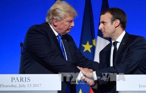 ประธานาธิบดีสหรัฐยืนยันถึงความสัมพันธ์ที่ยั่งยืนกับฝรั่งเศส - ảnh 1