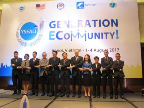 การสัมมนาโครงการข้อคิดริเริ่มผู้นำรุ่นใหม่เอเชียตะวันออกเฉียงใต้หรือ YSEALI - ảnh 1