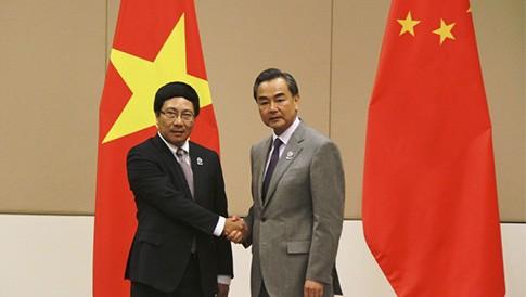 เวียดนามและจีนเห็นพ้องที่จะกระชับความร่วมมือในหลายด้าน  - ảnh 1